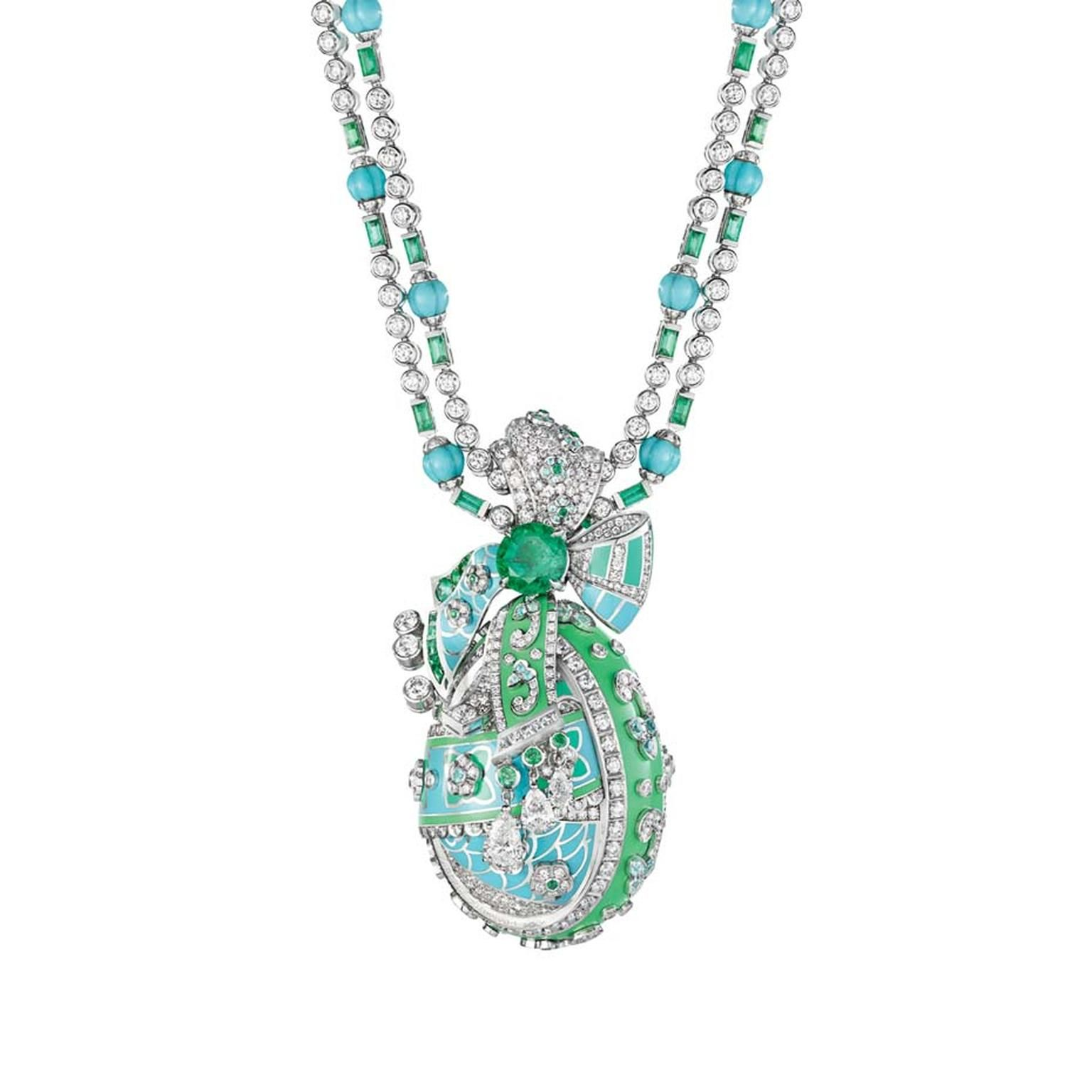Fabergé necklace from the summer in provence high jewellery
