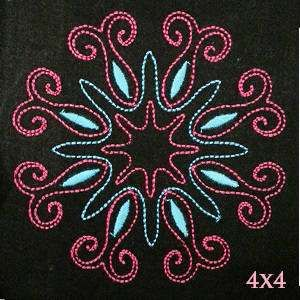 Free Quilt Pattern: Dainty Quilt Block | Free Embroidery Designs ... : free quilt embroidery designs - Adamdwight.com