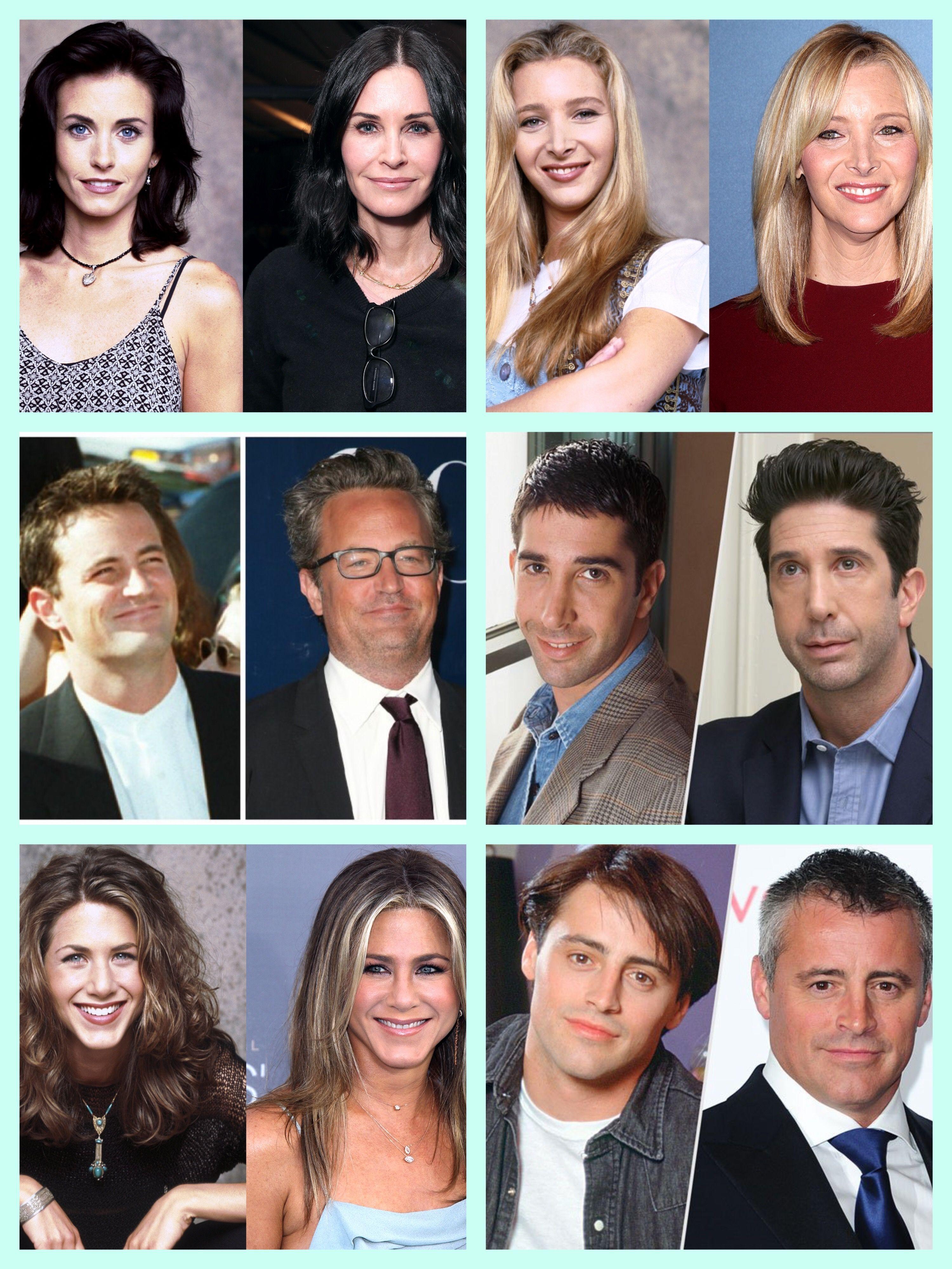 Then And Now Friends Episodes Friends Cast Friends Cast Now