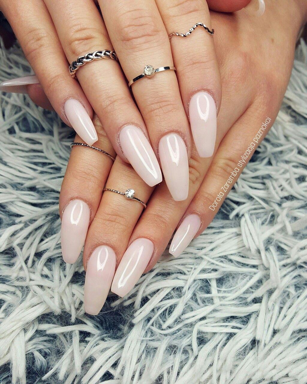 Natural nails Gel nails, style nails, design nails, glamour nail ...