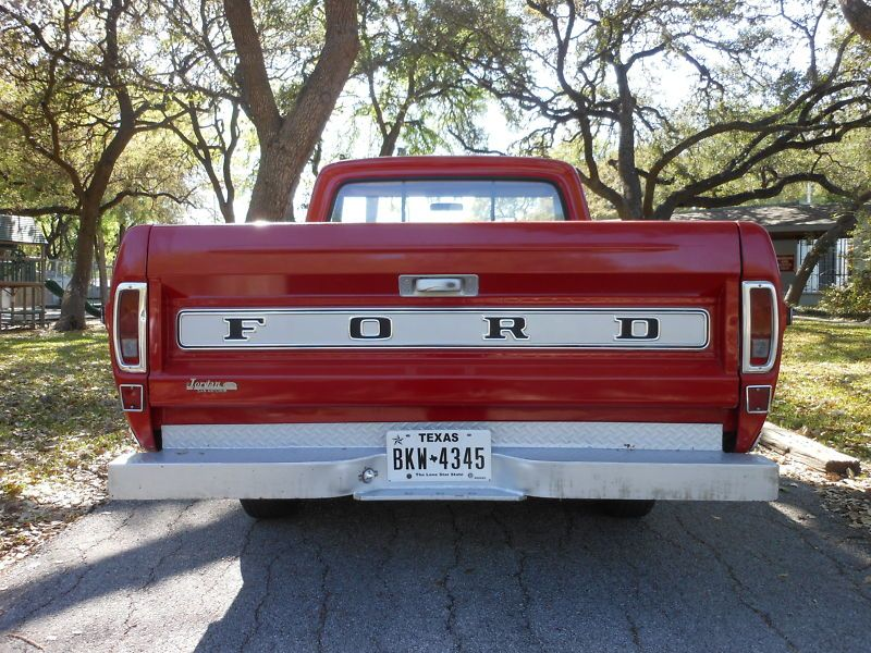 1967 Ford Truck Pickup Red  Refrigerator Tool Box  Magnet Gift Card Insert