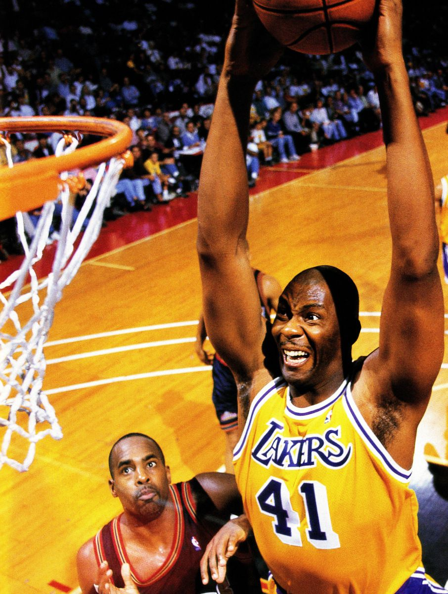 Resultado de imagen de Elden Campbell Lakers
