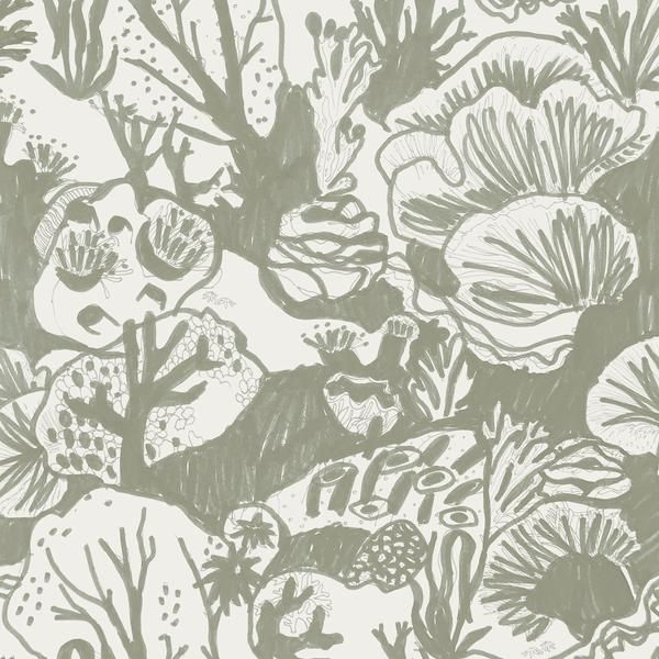Reef Wallpaper Seaweed Springvale House Interior