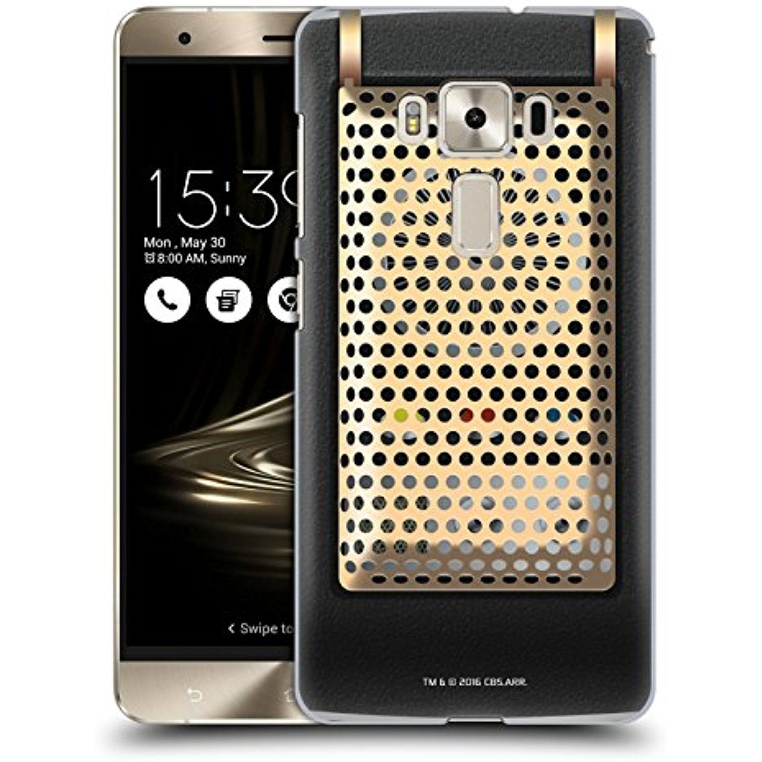 Official Star Trek Communicator Closed Gadgets Hard Back Case For Asus Zenfone 3 Deluxe Zs570kl You Can Find Out More Details At The Link Of Image