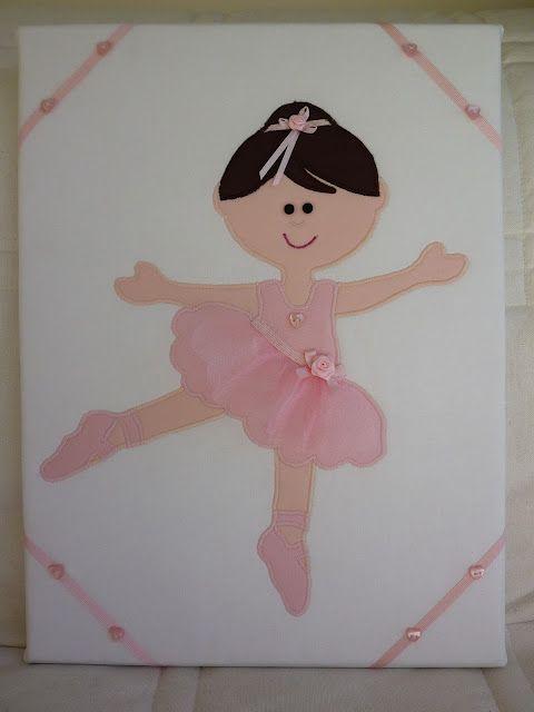 Applique ballerina | patchcolagem | Pinterest | Mädchen geburtstag ...
