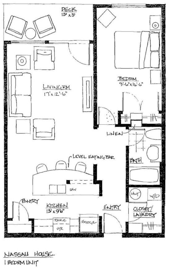 1 Bedroom Condo Floor Plans Gurus Floor