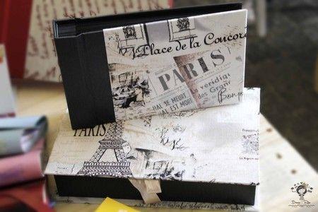 Álbum pequeno   caixa