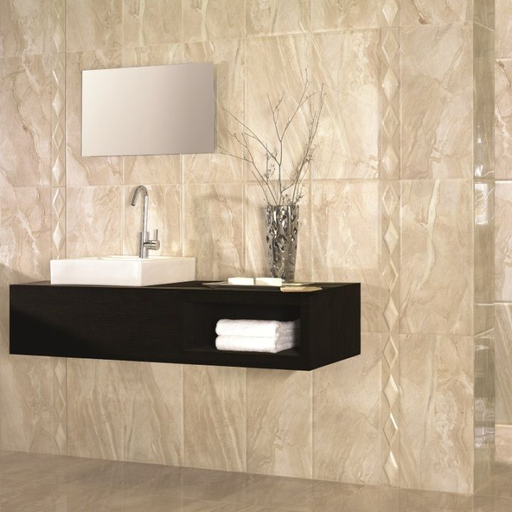 These large wall tiles with a high gloss finish are ideal for creating absolutely gorgeous tile designs. The bevelled edge of these contemporary tiles gives the range a particularly luxurious appearance.