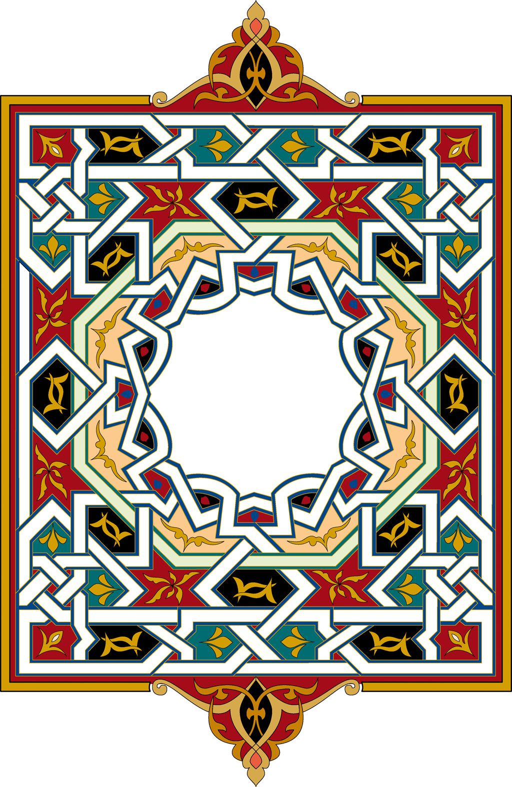 motif de viande Islamique ottoman (47) Arabesk, Desenler