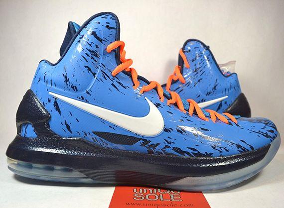 "low priced 5958c 92048 Nike KD 5 ""Thunder Camo"" Sample on eBay"