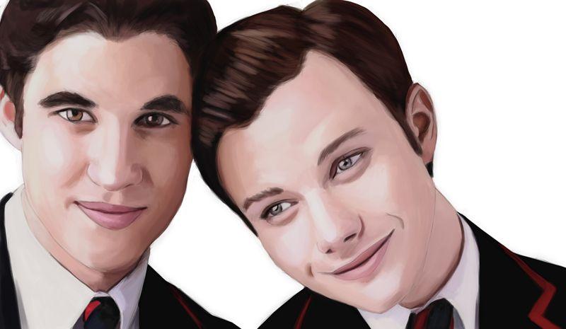 Glee Bretagne en Blaine hook up Dating experiment vragen