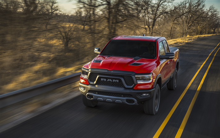 Download Wallpapers Dodge Ram 1500 2018 Red Pickup Truck New Suv Red Ram 1500 American Cars Dodge Besthqwallpapers Com Ram 1500 Dodge Ram Dodge