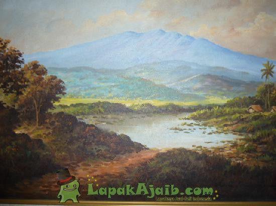 Lukisan Pemandangan Alam Karya Soekardji 2 Pemandangan Alam
