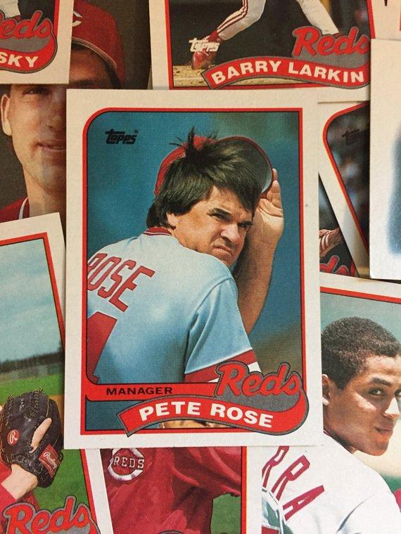 Complete Cincinnati Reds 1989 Topps Team Set 29 Total Mlb Baseball