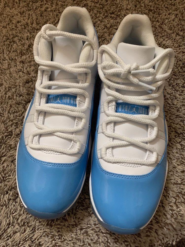 59b45359d6061e Air Jordan Retro 11 Low Carolina Blue Size 10  fashion  clothing  shoes   accessories  mensshoes  athleticshoes (ebay link)