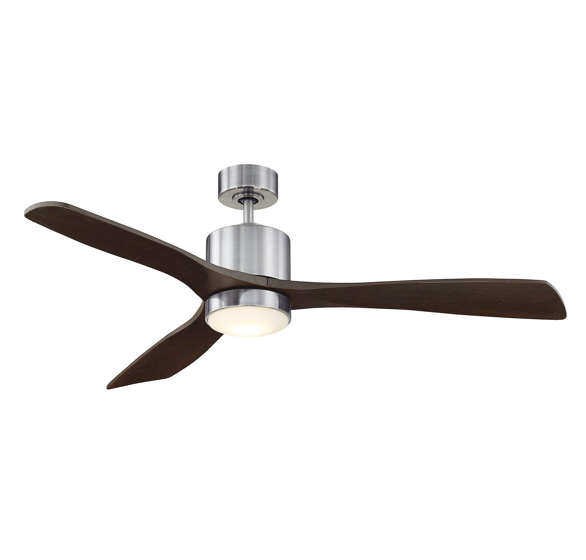 Amherst Ceiling Fan with Light features a Brushed Pewter motor