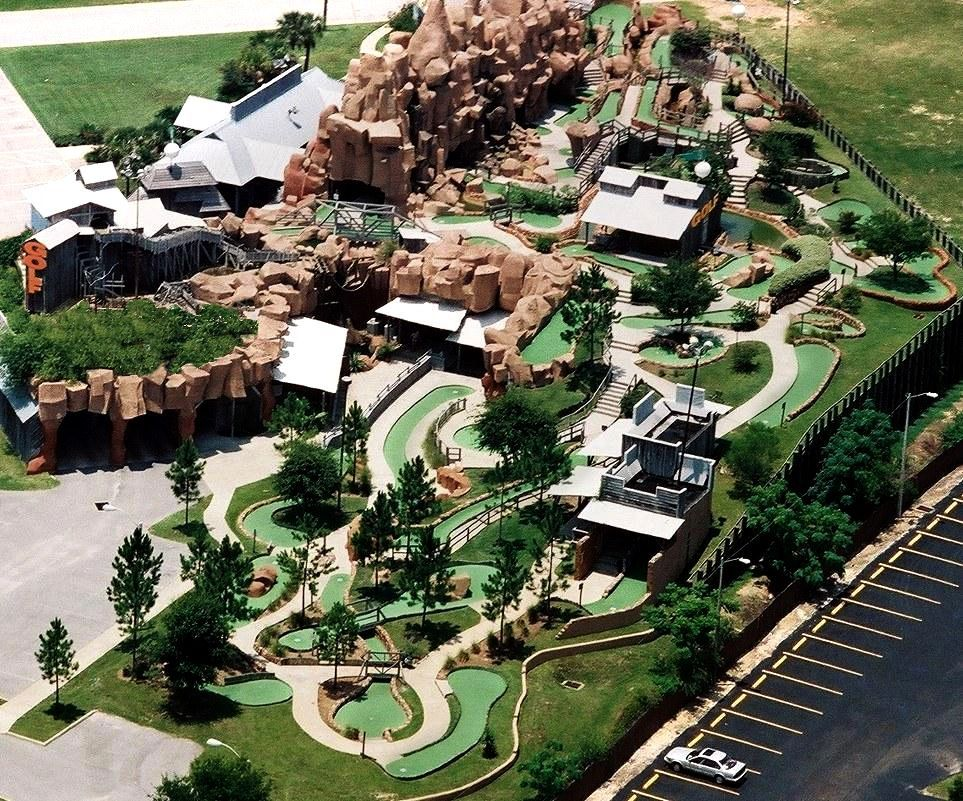 Bonanza mini golf Kissimmee, FL #celebrationattractions # ...