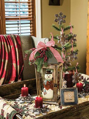 Country Sampler It Had To Be Yule Christmas Arrangements