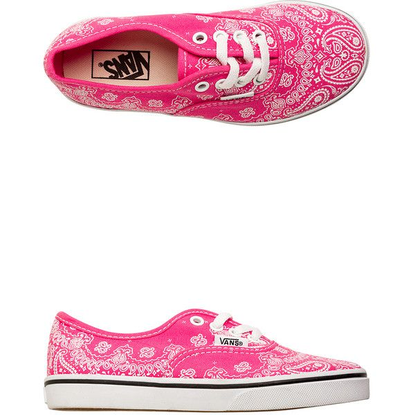 b7ffd6e7bb Vans Authentic Lo Pro Bandana Shoe ( 24) ❤ liked on Polyvore featuring shoes