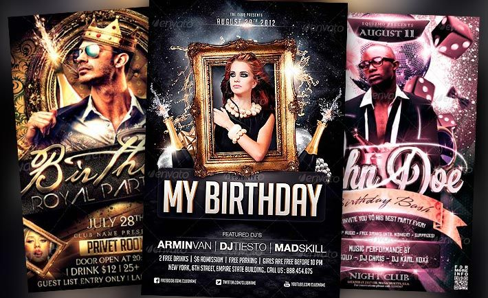 Best Birthday Flyer Templates No1 - http\/\/wwwflyermind\/best - birthday flyer template