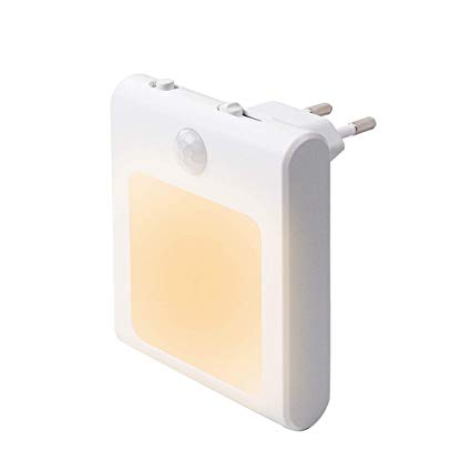 1 Stuck Led Nachtlicht Steckdose Mit Bewegungsmelder Steckdosenlicht Helligkeit Stufenlos Einstellbar Orientierungslicht In 2020 Nachtlicht Bewegungsmelder Steckdosen