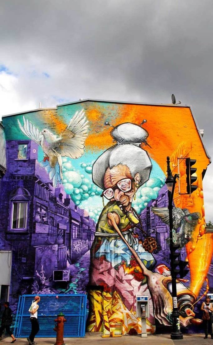 Montreal's First Mural Festival Is A Hit