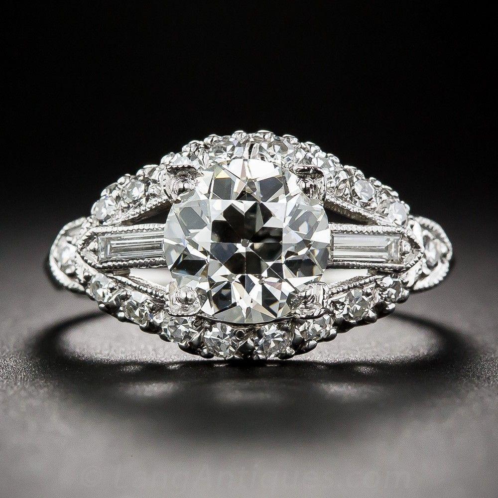 carat vintage diamond engagement ring vintage engagement