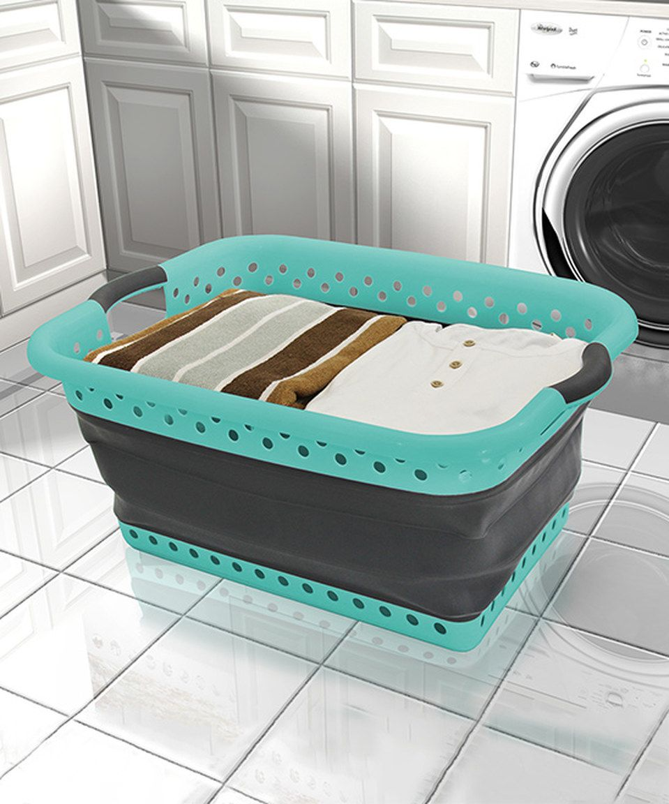 Take A Look At This Collapsible Laundry Basket Today