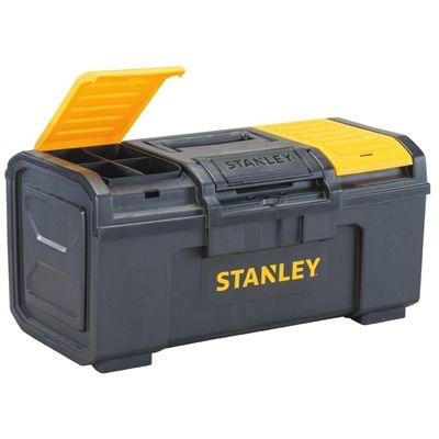 Stanley 10.5-in 0-Drawer Yellow Material Tool Box  sc 1 st  Pinterest & Stanley 10.5-in 0-Drawer Yellow Material Tool Box   *Tool Storage ...