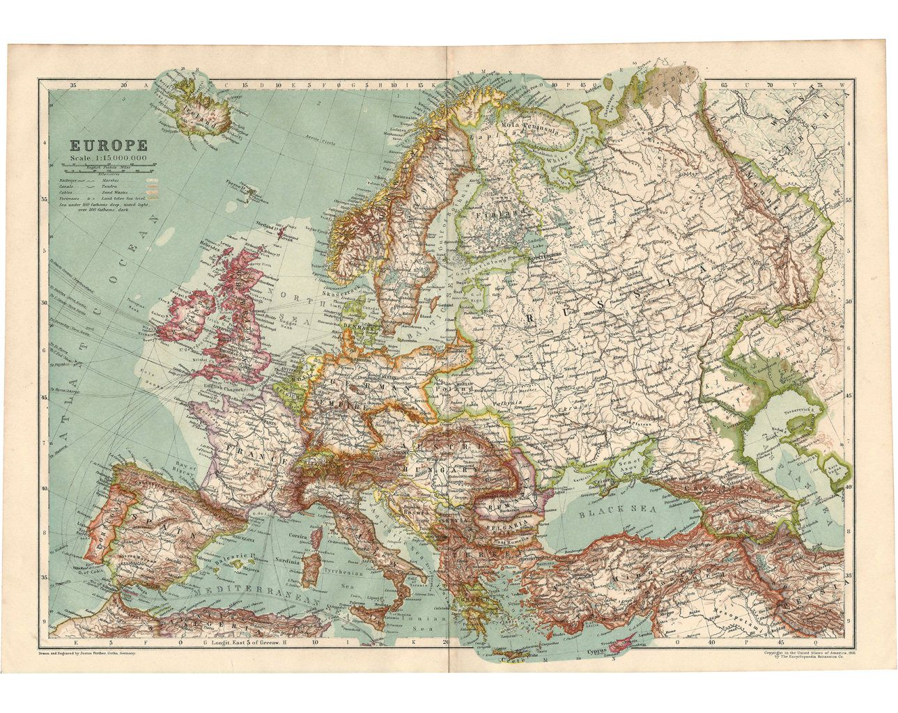 Europe, Authentic Antique Map Pre-World War I: 1910, Full ... on production world map, ph world map, co world map, add world map, pr world map, earlier world map, col world map, son world map, mal world map, area world map, sec world map, pop world map, second world map, iphone world map, mea world map, palm world map, pri world map, br world map, key world map, hp world map,