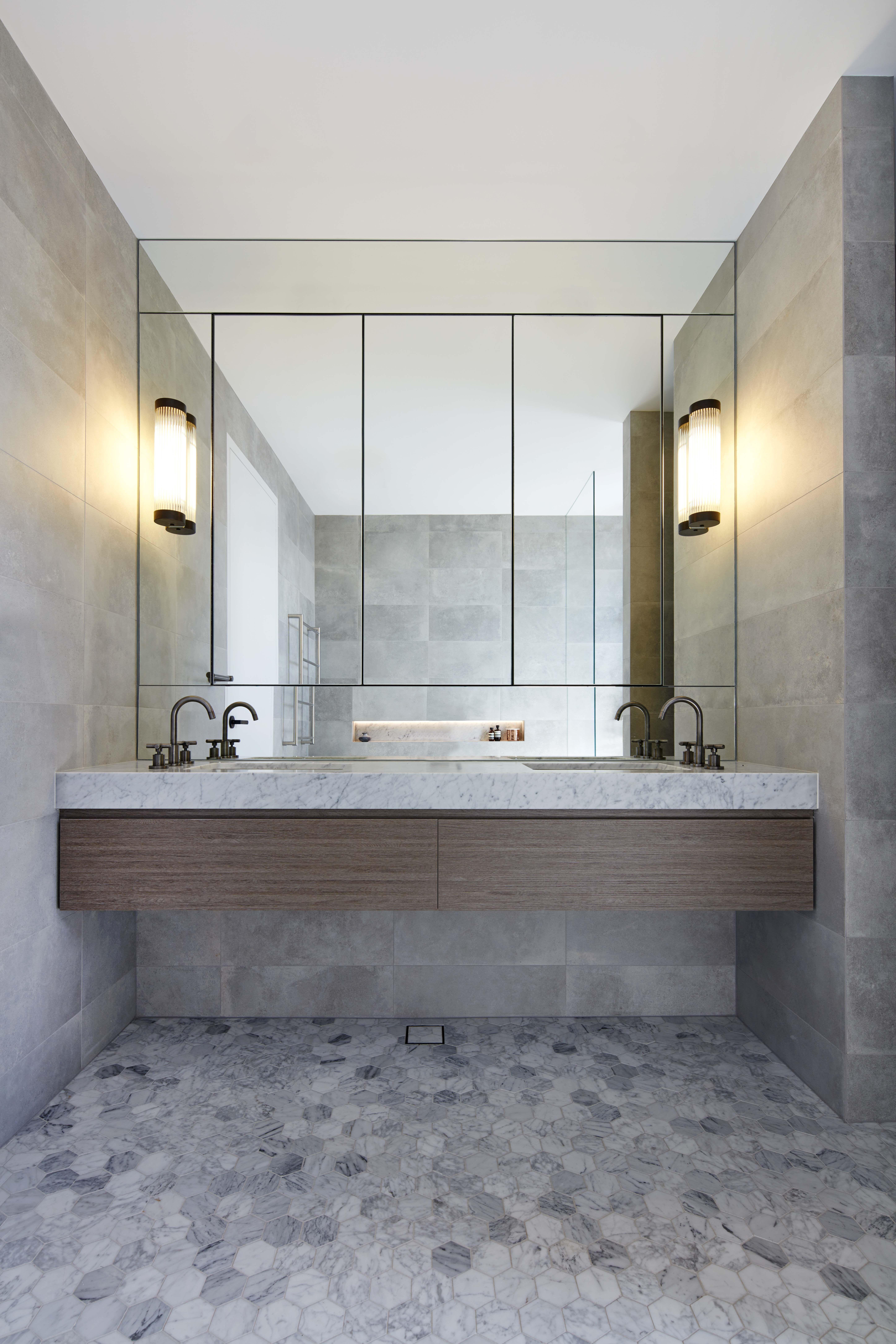 45 Best Bathroom Storage Cabinets For Wall And Floor That Will Help You Bathroom Mirror Cabinet Bathroom Design Bathroom Vanity