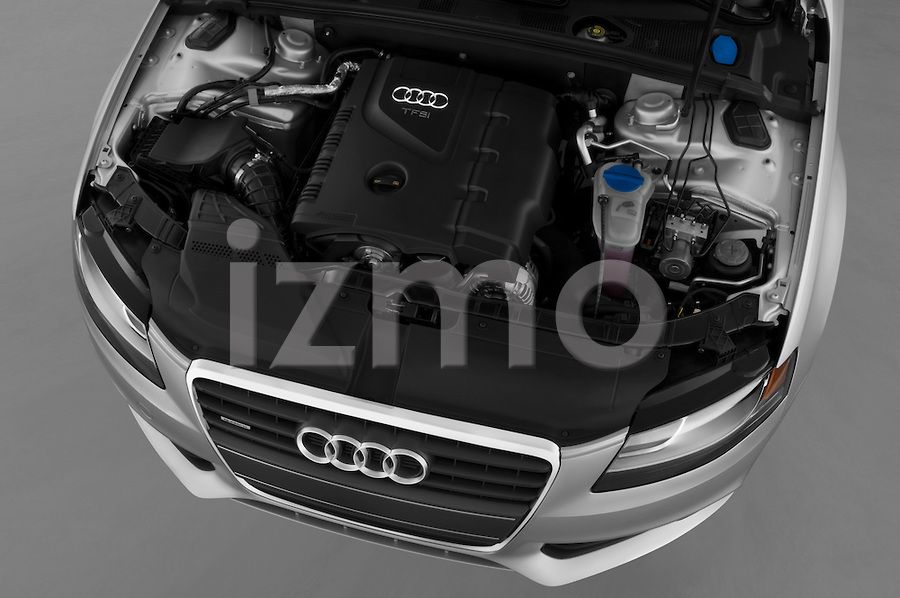 Engine View Of Silver 2012 Audi A4 Sedan Audi A4 Audi Stock Photos