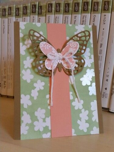 Stampin' Up!, Irresistibly Yours,  Butterfly Basics