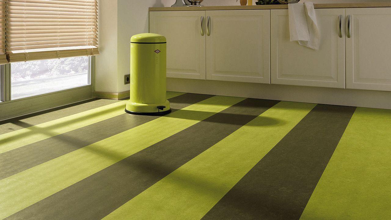 Forbo marmoleum flooring in kitchen Linoleum flooring
