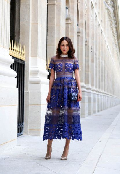 40eeab00ababc 27 Beautiful looks with Self portrait Dress glamhere.com Paris ...