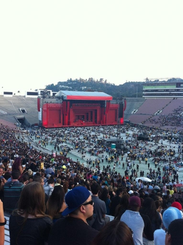 Rose Bowl Concert Seating Chart : concert, seating, chart, Seating, Chart, Images