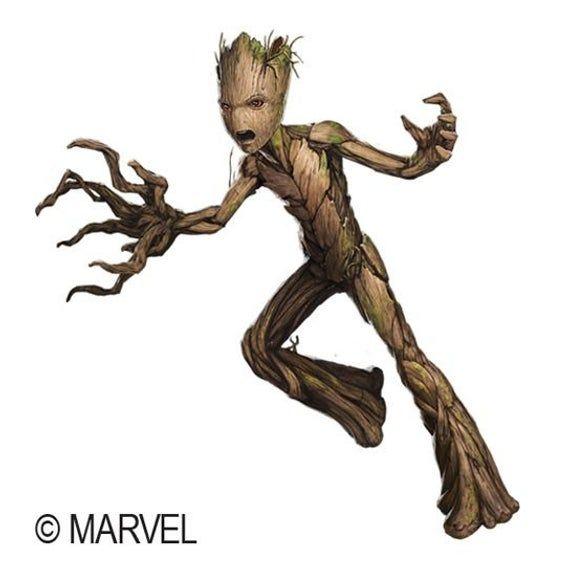 Avengers Groot Temporary Tattoo | Etsy