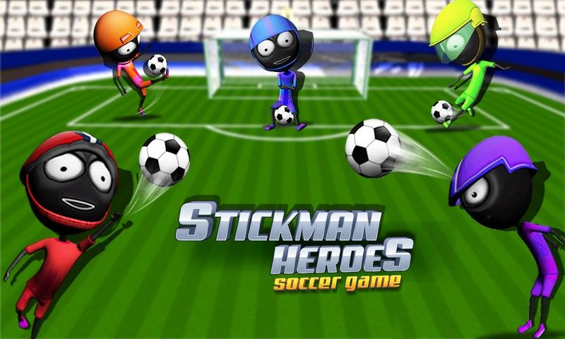 Stickman Heroes Soccer Game Heroes, Stickman, Game