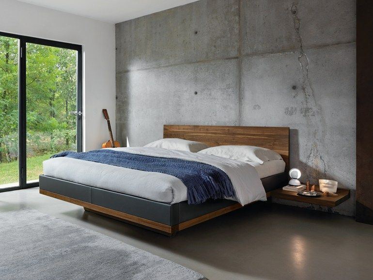 SOLID WOOD DOUBLE BED RILETTO DOUBLE BED TEAM 7 NATÜRLICH WOHNEN