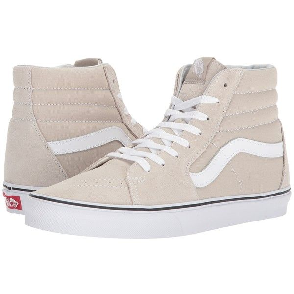 VansSK8-HI - High-top trainers - silver lining/true white Q9Xohr