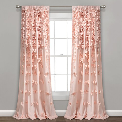 Lush Decor Riley Window Curtain Panel In 2020 Panel Curtains