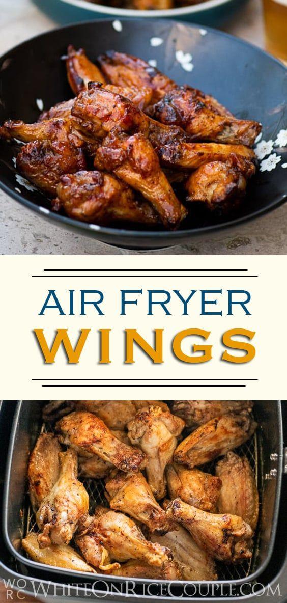 Air Fryer Chicken Wings Recipe Air fry chicken wings
