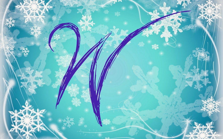 Alfabeto nevando tipo Frozen.   Oh my Alfabetos!