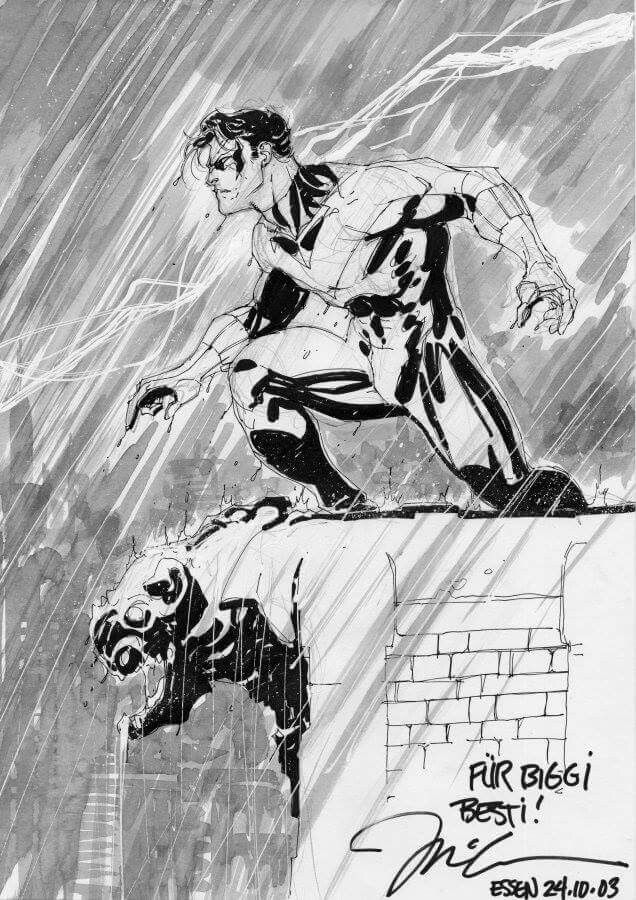 Nightwing by Jim Lee | Batman/DC comic stuff | Pinterest | Hall de ...