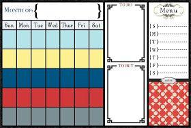 Adbug Photography Blog Calendar Template Printables