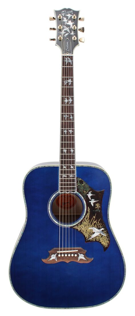 Gibson Limited Edition Doves in Flight Trans Blues 2015