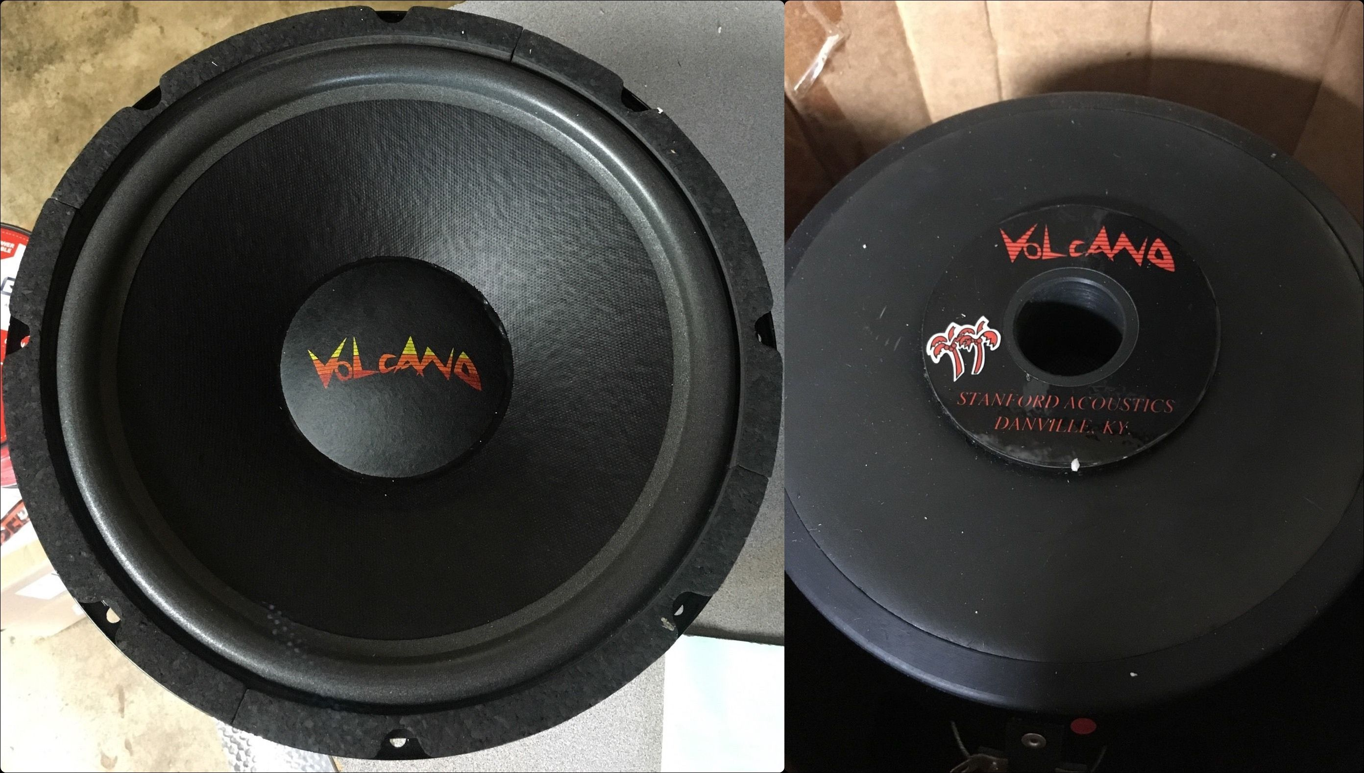 Stanford Acoustics Volcano 12s200 12 Inch Subwoofer Made In Kentucky Usa Car Audio 12 Inch Subwoofer Subwoofer