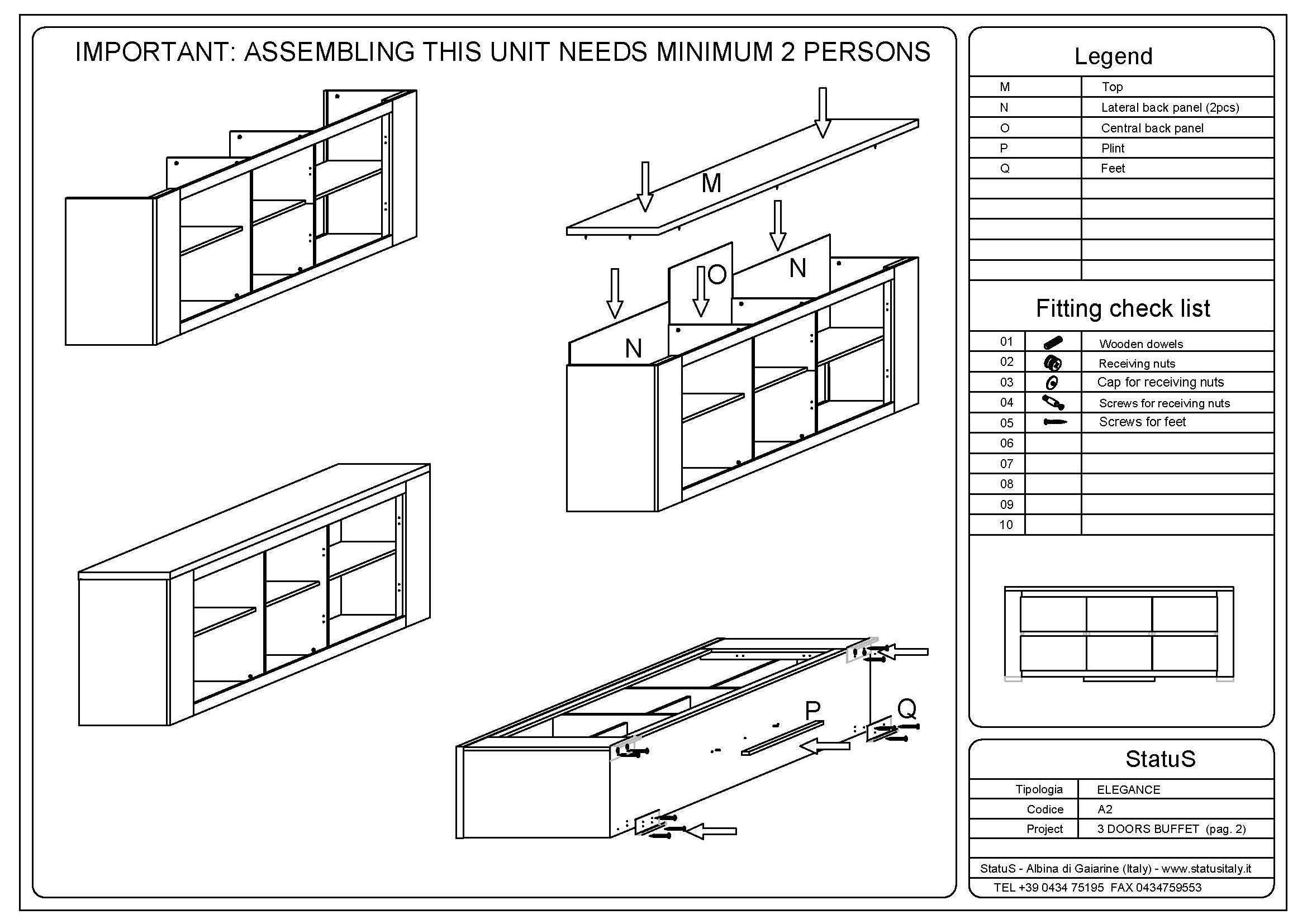 Dining Room Buffet Dimensions