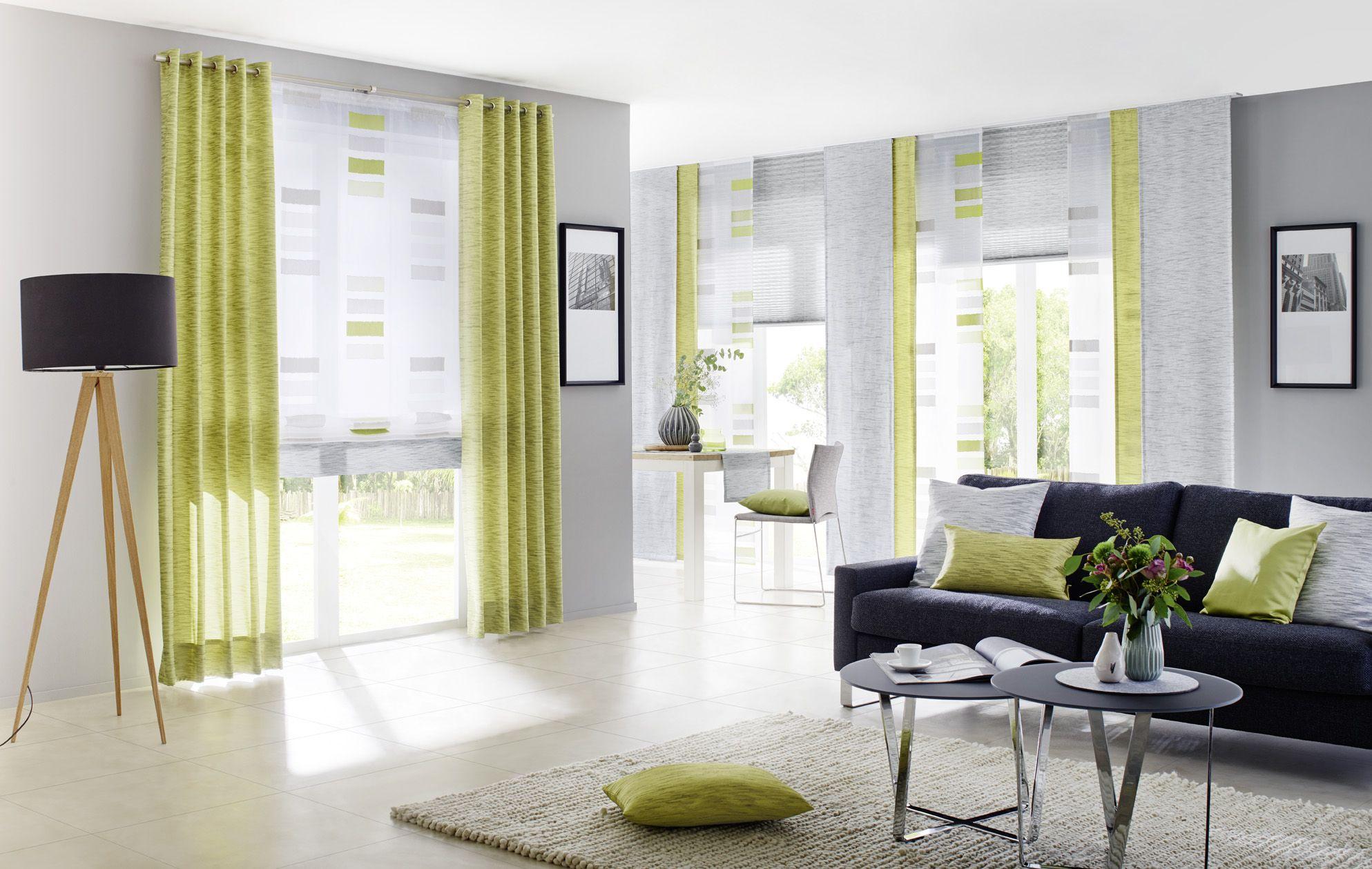 fenster shantung grey gardinen dekostoffe vorhang wohnstoffe plissees rollos jalousien. Black Bedroom Furniture Sets. Home Design Ideas