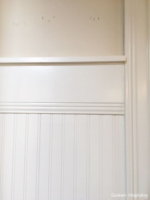 Beadboard Wainscot in the Dining Room - Southern Hospitality